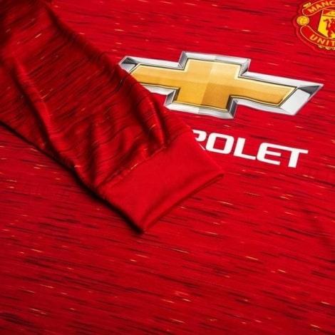 Домашняя форма Ман Юн 2020-2021 c длинными рукавами футболка титульный спонсор