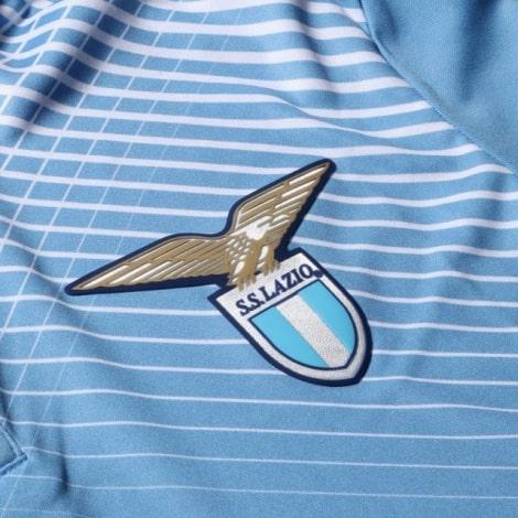 Комплект детской домашней формы Лацио 2020-2021 футболка герб клуба
