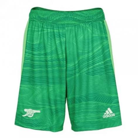 Вратарская зеленая футбольная форма Бернд Лено 2021-2022 шорты
