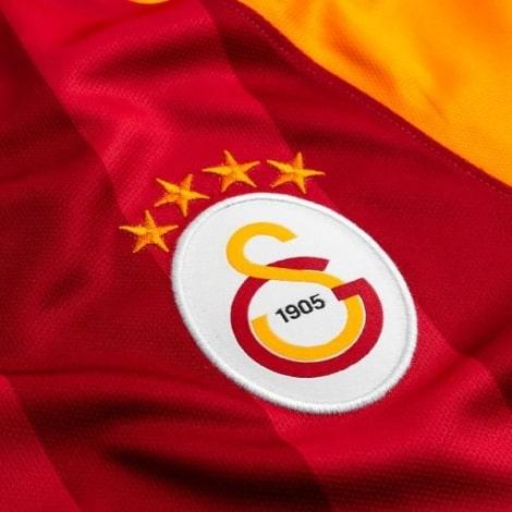 Домашняя игровая футболка Галатасарай 2019-2020 герб клуба