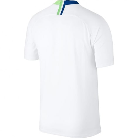 Гостевая игровая футболка Вольфсбурга 2018-2019 сзади