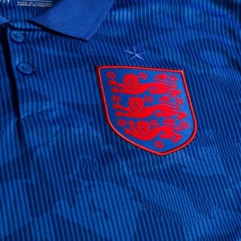 Гостевая футболка сборной Англии на Чемпионат Европы 2020 герб сборной