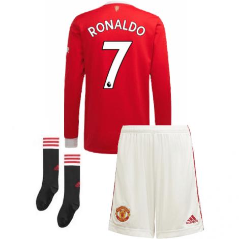 Домашняя форма Ман Юнайтед 21-22 Роналду с длинными рукавами