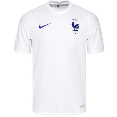 Гостевая футболка сборной Франции на ЕВРО 2020-21 Мбаппе