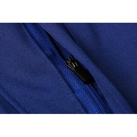Синий спортивный костюм Барселоны 2021-2022 карман