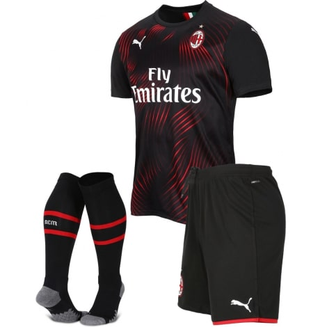Детская третья футбольная форма Милана 2019-2020