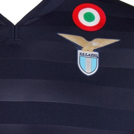 Гостевая игровая футболка Лацио 2019-2020 герб клуба