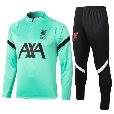 Черно-мятный костюм Ливерпуля 2020-2021