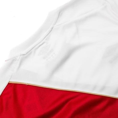 Белая домашняя футболка сборной Перу на чемпионат мира 2018 сзади
