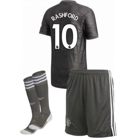 Детская гостевая футбольная форма Маркус Рашфорд 2020-2021