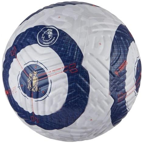 Бело-синий мяч Премьер Лиги по футболу 2020-2021