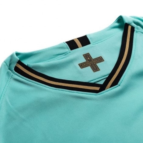 Детская гостевая форма Интера Ромелу Лукаку 2019-2020 футболка воротник