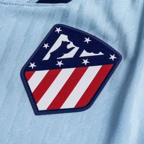 Комплект детской третьей формы Атлетико 2019-2020 футболка герб клуба