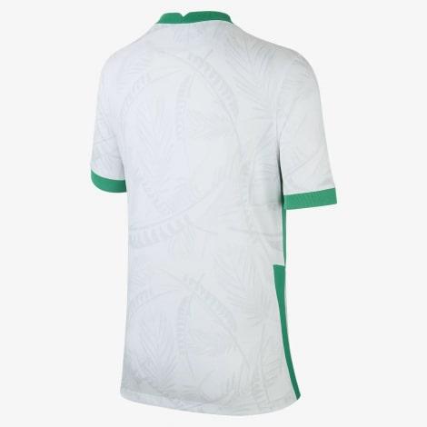 Домашняя футболка Саудовской Аравии по футболу 2021-2022 сзади