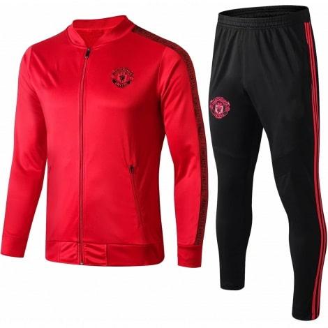 Взрослый красно-черный костюм Ман Юнайтед 2019-2020