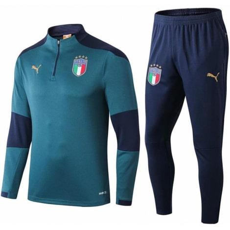 Сине-зеленый костюм сборной Италии по футболу 2019-2020