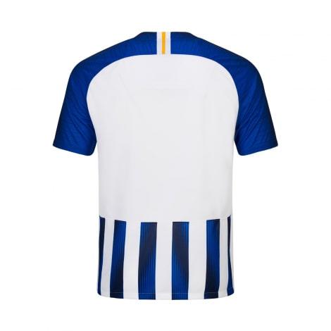 Домашняя игровая футболка Брайтон энд Хоув Альбион 2019-2020 сзади