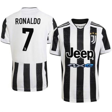 Детская домашняя футбольная форма Роналдо 2021-2022 футболка