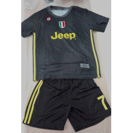 Детская третья футбольная форма Ювентуса 2018-2019 футболка шорты и гетры