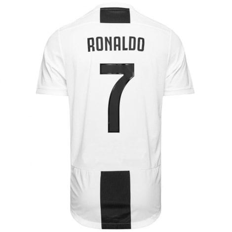 Футболка детская домашняя Криштиану Роналдо 2018-2019