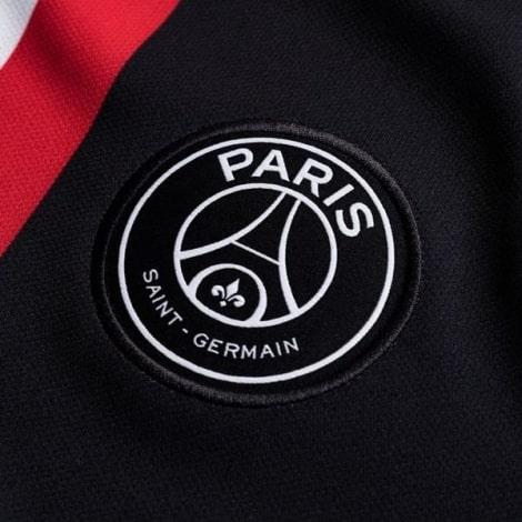 Комплект детской четвертой формы ПСЖ 2019-2020 JORDAN футболка герб склуба