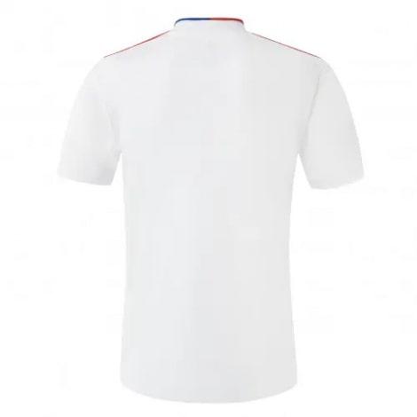 Домашняя игровая футболка Лион 2021-2022 сзади