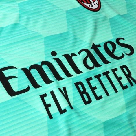 Вратарская домашняя футболка Милана 2020-2021 титульный спонсор