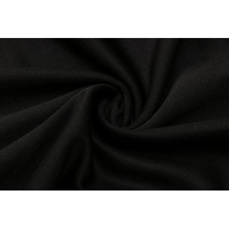 Черно-голубой спортинвый костюм Наполи 2021-2022 ткань