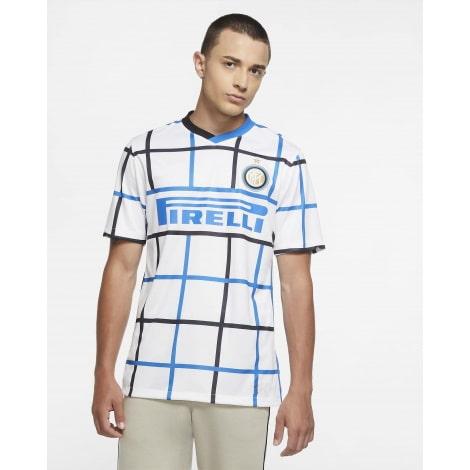 Комплект взрослой гостевой формы Интер 2020-2021 футболка
