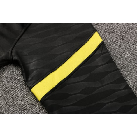 Черный тренировочный костюм Челси 2021-2022 рукав