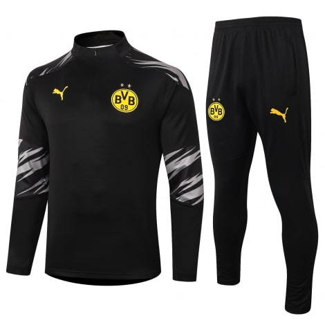 Черно-серый костюм Боруссии Дортмунд 2021-2022