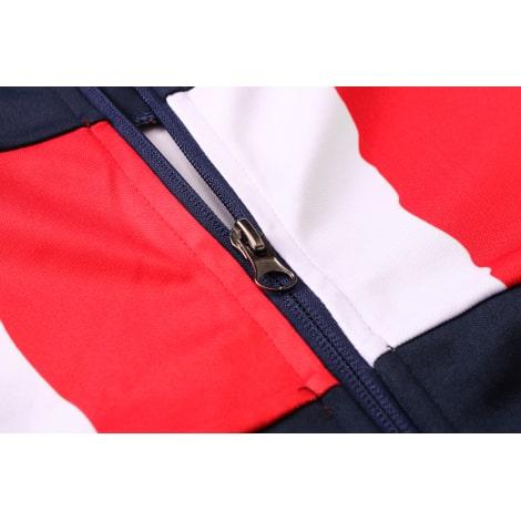 Черно-сине-красный костюм Атлетико Мадрид 2021-2022 молния