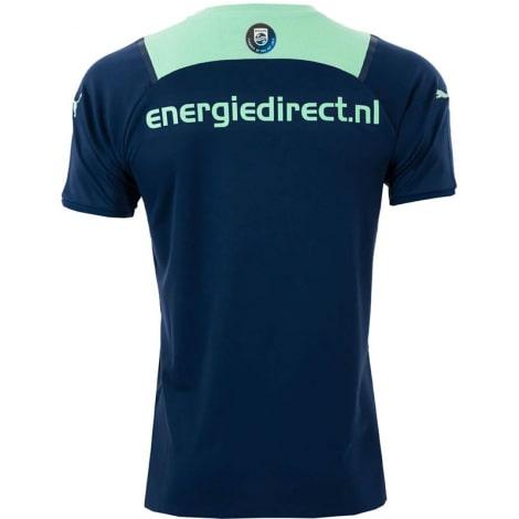 Комплект детской гостевой формы ПСВ 2021-2022 футболка сзади