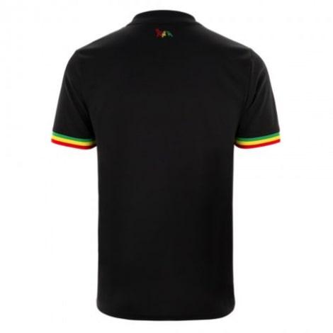 Комплект взрослой третьей формы АЯКС 2021-2022 футболка сзади