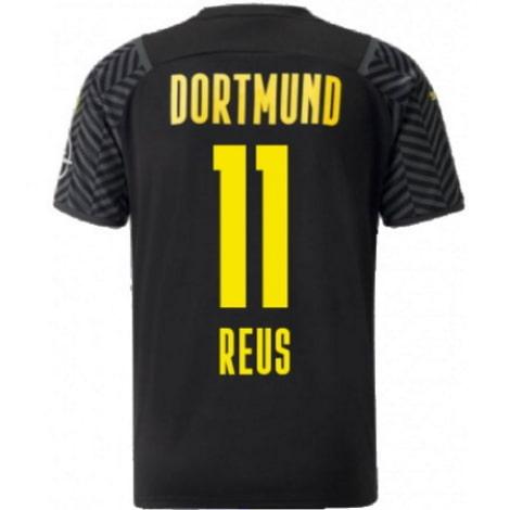 Гостевая футболка Боруссии Дортмунд 2021-2022 Марко Ройс