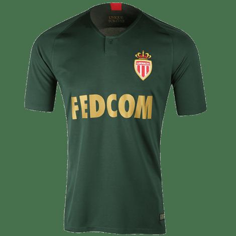 Гостевая игровая футболка Монако 2018-2019