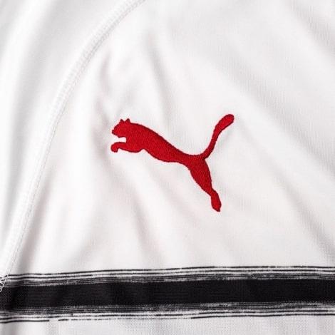 Детская гостевая футболка формы Милана 2018-2019 бренд