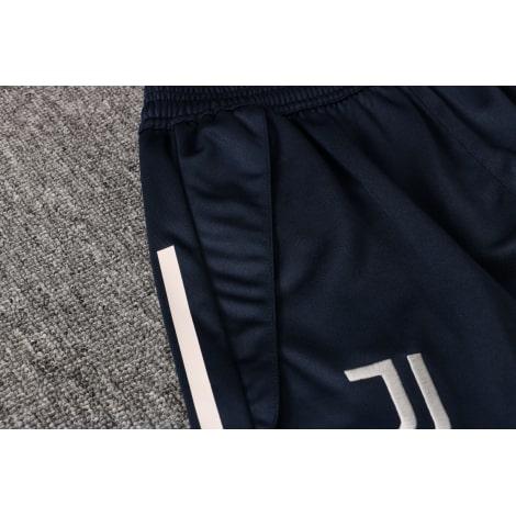 Темно-синяя тренировочная форма Ювентуса 2021-2022 шорты карман