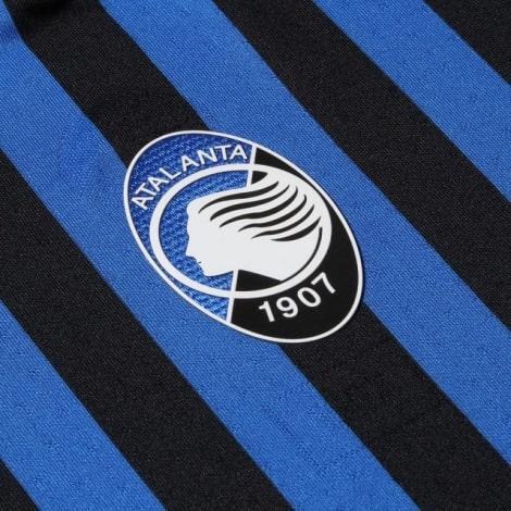 Комплект детской домашней формы Аталанта 2020-2021 футболка герб клуба