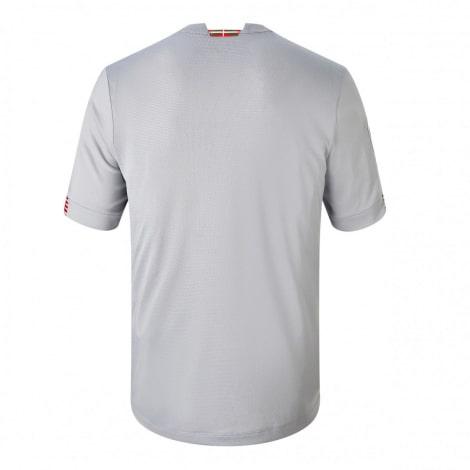 Гостевая игровая футболка Атлетик Бильбао 2020-2021 сзади