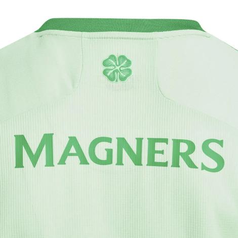Гостевая игровая футболка Селтик 2020-2021 сзади