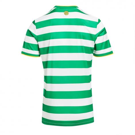 Комплект детской домашней формы Селтик 2020-2021 футболка сзади