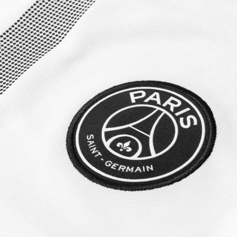 Футболка детской гостевой формы ПСЖ 2018-2019 JORDAN герб клуба