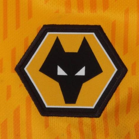 Детская домашняя форма Вулверхэмптон 2020-2021 футболка герб клуба