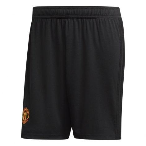 Детская домашняя форма Манчестер Юнайтед 18-19 c длинными рукавами шорты
