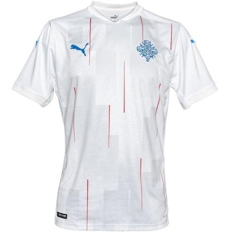 Гостевая футболка сборной Исландии 2020-2021