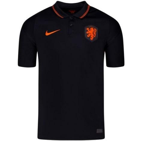Детская домашняя форма Голландии на ЕВРО 2020-2021 футболка шорты и гетры