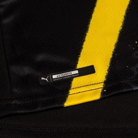Гостевая игровая футболка Боруссии Дортмунд 2020-2021 Холанн бренд