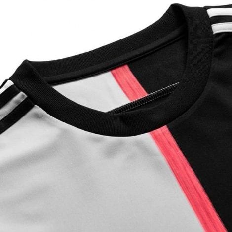 Комплект взрослой домашней формы Ювентуса 2019-2020 футболка воротник