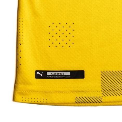 Четвертая игровая футболка Боруссии Дортмунд 2020-2021 бренд